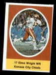 1972 Sunoco Stamps  Elmo Wright  Front Thumbnail