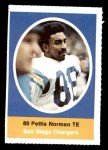 1972 Sunoco Stamps  Pettis Norman  Front Thumbnail