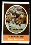 1972 Sunoco Stamps  Jim Carter  Front Thumbnail