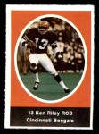 1972 Sunoco Stamps  Ken Riley  Front Thumbnail