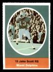 1972 Sunoco Stamps  Jake Scott  Front Thumbnail