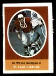 1972 Sunoco Stamps  Wayne Mulligan  Front Thumbnail