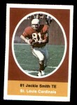 1972 Sunoco Stamps  Jackie Smith  Front Thumbnail