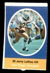 1972 Sunoco Stamps  Jerry LeVias  Front Thumbnail