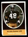 1972 Sunoco Stamps  John Rowser  Front Thumbnail