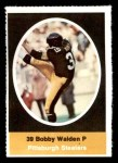 1972 Sunoco Stamps  Bobby Walden  Front Thumbnail