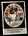 1972 Sunoco Stamps #461  George Buehler  Front Thumbnail