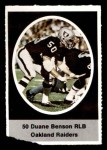 1972 Sunoco Stamps  Duane Benson  Front Thumbnail