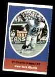 1972 Sunoco Stamps  Charlie Harper  Front Thumbnail