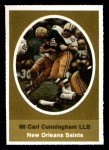 1972 Sunoco Stamps  Carl Cunningham  Front Thumbnail