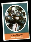 1972 Sunoco Stamps  Jim Riley  Front Thumbnail