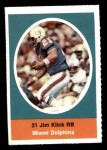 1972 Sunoco Stamps  Jim Kiick  Front Thumbnail