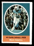 1972 Sunoco Stamps  Curtis Johnson  Front Thumbnail