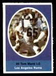 1972 Sunoco Stamps  Tom Mack  Front Thumbnail