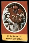 1972 Sunoco Stamps  Ed Budde  Front Thumbnail