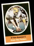 1972 Sunoco Stamps  Ken Bowman  Front Thumbnail