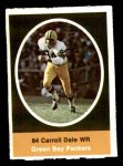 1972 Sunoco Stamps  Carroll Dale  Front Thumbnail