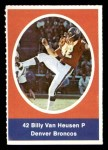 1972 Sunoco Stamps  Billy Van Heusen  Front Thumbnail