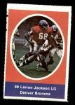 1972 Sunoco Stamps  Larron Jackson  Front Thumbnail
