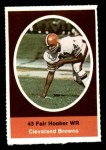 1972 Sunoco Stamps  Fair Hooker  Front Thumbnail