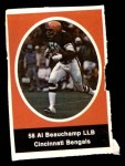 1972 Sunoco Stamps  Al Beauchamp  Front Thumbnail