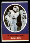 1972 Sunoco Stamps  Al Andrews  Front Thumbnail