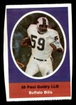 1972 Sunoco Stamps  Paul Guidry  Front Thumbnail