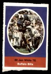1972 Sunoco Stamps  Jan White  Front Thumbnail