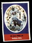 1972 Sunoco Stamps  John Pitts  Front Thumbnail