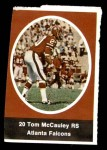 1972 Sunoco Stamps  Tom McCauley  Front Thumbnail