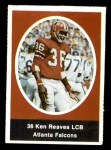 1972 Sunoco Stamps  Ken Reaves  Front Thumbnail