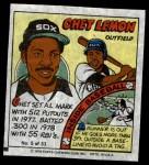 1979 Topps Comics #5  Chet Lemon  Front Thumbnail