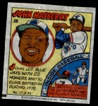1979 Topps Comics #17  John Mayberry  Front Thumbnail