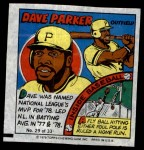 1979 Topps Comics #29  Dave Parker  Front Thumbnail
