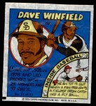 1979 Topps Comics #31  Dave Winfield  Front Thumbnail