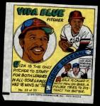 1979 Topps Comics #33  Vida Blue  Front Thumbnail
