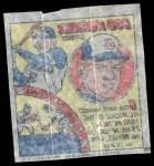 1979 Topps Comics #18  Bob Horner  Back Thumbnail
