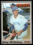 1970 Topps #158  Jerry McNertney  Front Thumbnail