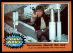 1977 Topps Star Wars #267   Non-nonsense privateer Han Solo Front Thumbnail