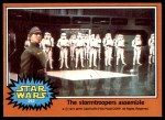 1977 Topps Star Wars #292   The Stormtroopers assemble Front Thumbnail
