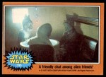 1977 Topps Star Wars #293   A friendly chat among alien friends! Front Thumbnail