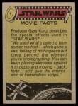 1977 Topps Star Wars #107   The Tusken Raider Back Thumbnail
