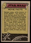 1977 Topps Star Wars #126   A quizzical Threepio Back Thumbnail
