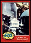 1977 Topps Star Wars #78   Droids to the rescue Front Thumbnail