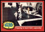 1977 Topps Star Wars #79   Preparing to board Solo's spaceship Front Thumbnail