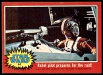 1977 Topps Star Wars #84   Rebel pilot prepares for the raid Front Thumbnail