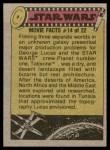 1977 Topps Star Wars #261   Fury of the Tusken Raider Back Thumbnail