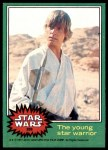1977 Topps Star Wars #239   The young star warrior Front Thumbnail