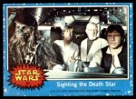 1977 Topps Star Wars #31   Sighting the Death Star Front Thumbnail