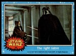 1977 Topps Star Wars #45   The light sabre Front Thumbnail